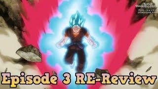 VEGITO BLUE KAIOKEN! NEW Dragon Ball Heroes Episode 3 Review