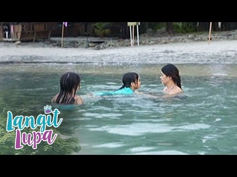 Langit Lupa: Esang learns how to swim |...