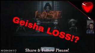 Identity V Geisha Gameplay   I MAY lose this one!   Identity V Geisha Gameplay Streamed on Fluxr!