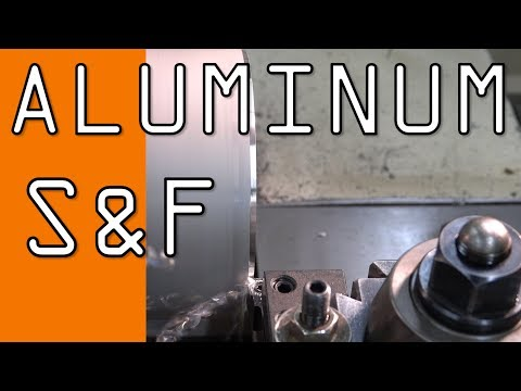 Aluminum Feeds & Speeds: Testing Lathe Insert! WW148
