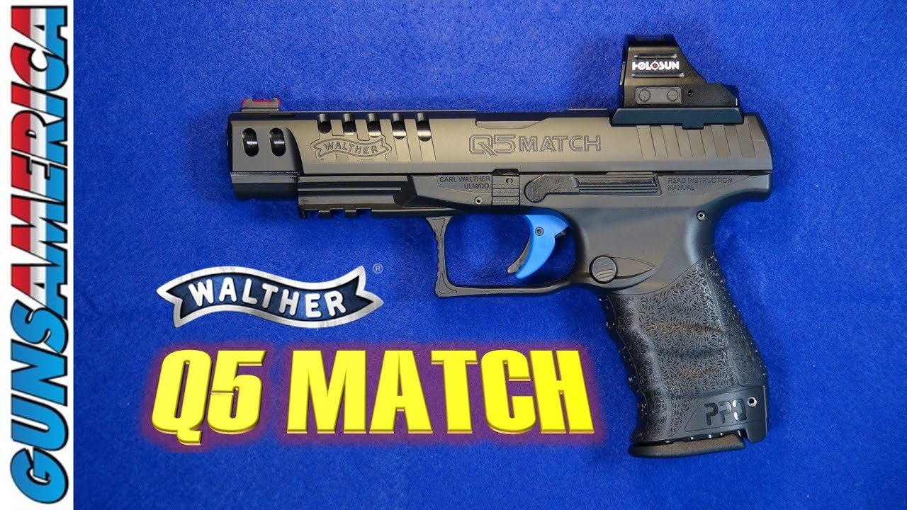 Walther PPQ Q5 Match – Why This Polymer Wonder is Still Relevant
