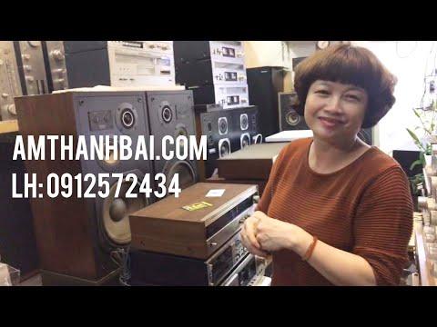LIVESTREAM: Ampli ghép Loa Nga, Tuner Cassette của MARANTZ, PIONEER 7800ii, 7600... - LH: 0912572434
