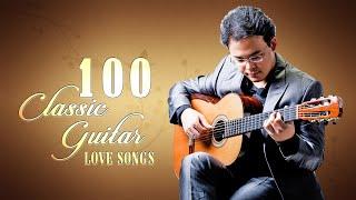 Las 100 canciones de guitarra clásica más bellas: canciones románticas de amor de guitarra