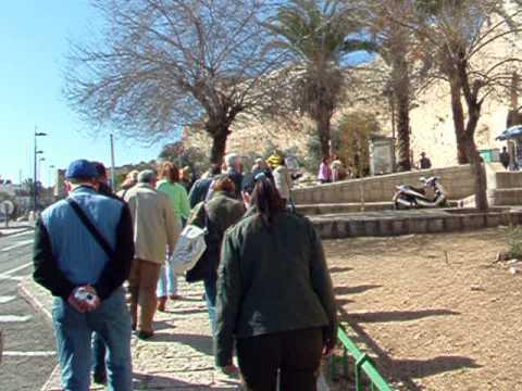 Иерусалим, приезд Оли январь 2007 - личный архив, не шоу