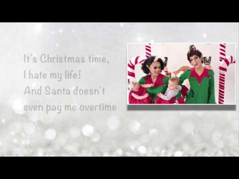 Manila Luzon & Alaska Thunderfuck -- Working Holiday Lyrics with MV
