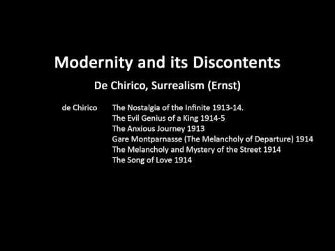 A history of modern art in 73 lectures: lecture 46 (De Chirico and Ernst)