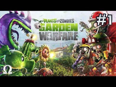 Plants vs Zombies Garden Warfare (Xbox One) | #1 - SO HERE'S BOSS MODE (COMMANDER)