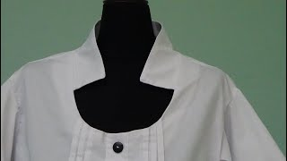Como cortar blusa talla extra con escarolas