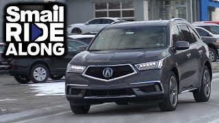 2018 Acura MDX with Advance Package - Review and Test Drive - Smail Ride Along