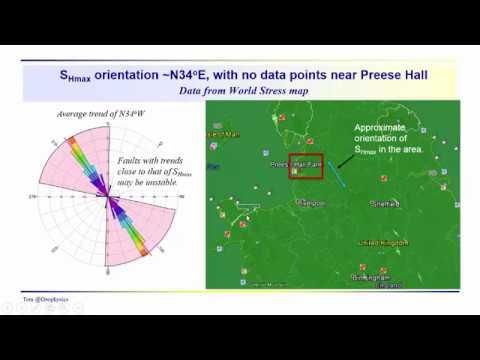 Geophysics: Fracking - Bowland shale incident, UK