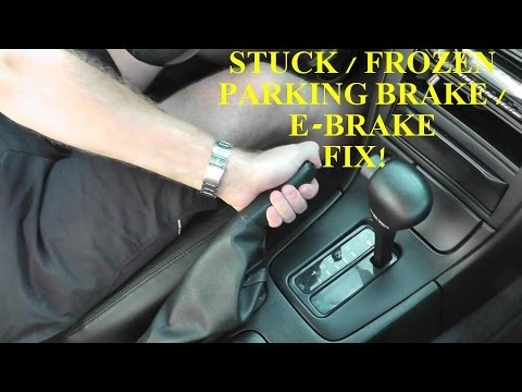 Fixing a Stuck Parking Brake or Emergency...