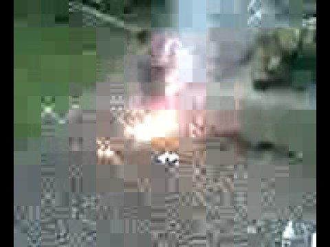 Lithium Metal Burning