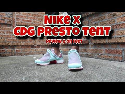 Nike x CDG Presto Tent | Most