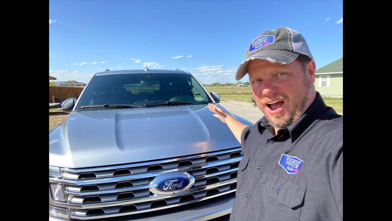 Live walk around 2020 Ford Expedition
