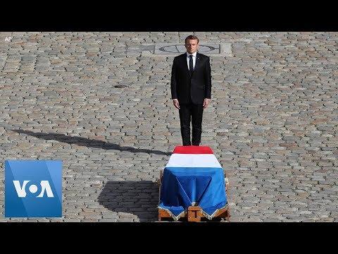 Chirac Gets Full Military Honors as France Bids Him Farewell