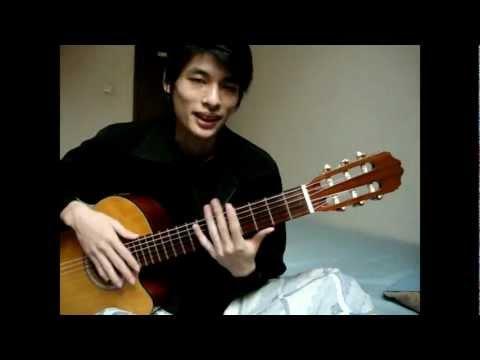 Akustik Gitar - Kunci Dasar C 03 (Kunci Minor)