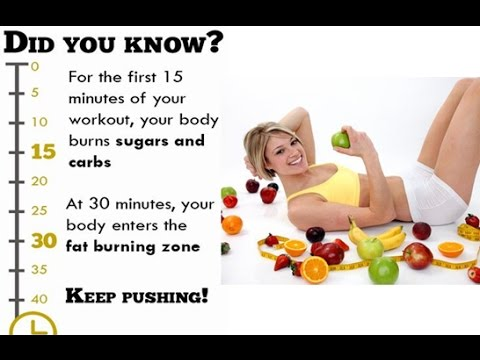How do you get your body into fat burning mode