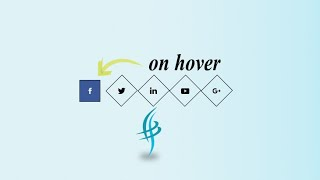 Cool Icon Hover Effect – Swatfilms