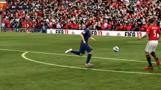 FIFA 13, падение Рио Фердинанда