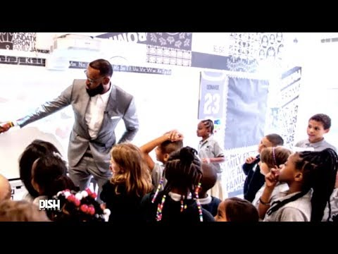 LEBRON JAMES OPENS PUBLIC SCHOOL FOR AT-RISK STUDENTS IN OHIO