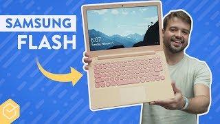 SAMSUNG NOTEBOOK FLASH - uma opção para ESTUDANTES! | Primeiras Impressões