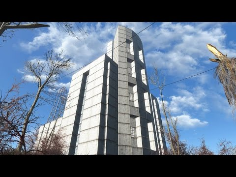 Tower Settlement I built at Abernathy Farm. (Hope it lives up to the Citadel)