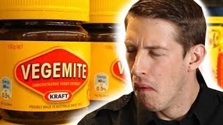 Repeat youtube video Americans Taste Test Australian Food