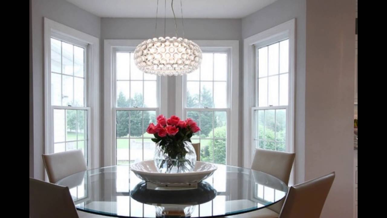 dining room hanging light fixtures - YouTube
