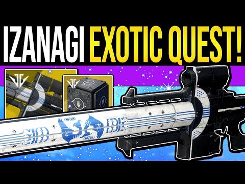 Destiny 2 | How to Get IZANAGI'S BURDEN! Exotic Sniper Quest, Mysterious Box Opened & Full Guide!