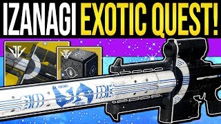 One of xHOUNDISHx's most viewed videos: Destiny 2 | How to Get IZANAGI'S BURDEN! Exotic Sniper Quest, Mysterious Box Opened & Full Guide!