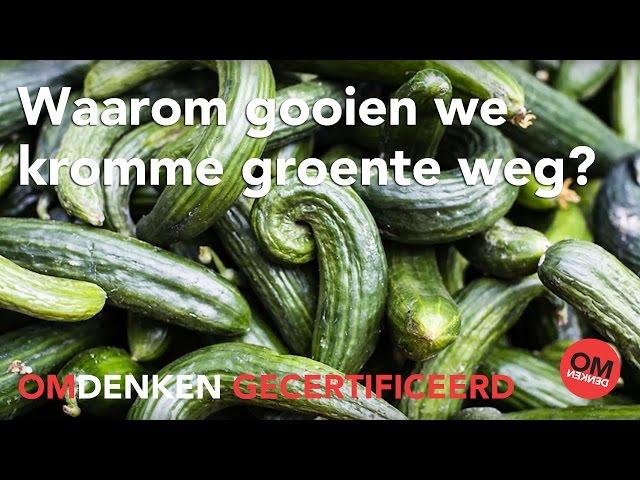 Omdenken Gecertificeerd: waarom gooien we kromme groente weg?