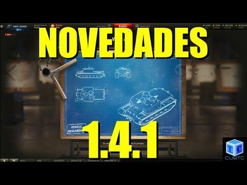 World Of Tanks Español: Novedades v.1.4.1 thumbnail