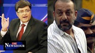 Sanjay Dutt To Be Release 7 Months Earlier : The Newshour Debate (6th Jan 2016)