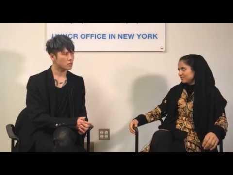 MIYAVI and Sonita interview by FB 20180122 1/2