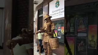 Cute Dog's Epic Performance As A Living Statue | Video  Winning Hearts Online | Dog Videos Cute