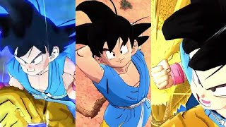 GT Goku Super Animation d'Attaque!|DB Légendes Gameplay|