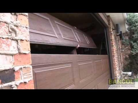 Barcol Doors & Windows - Edmonton - Overhead Door Installation Video