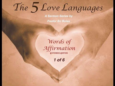 5 Love Languages #1: Words ... (v2)