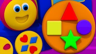 Street Shapes | Learning Street With Bob | Kindergarten song | Nursery Rhyme For Toddler by Kids Tv