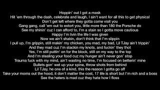 Lil Tjay - Hold On (Official Music Video Lyrics)