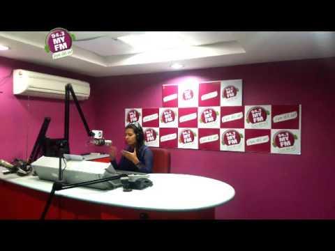 Radio Jockey RJ  Priyanka live From studio