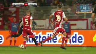 1. FC Union Berlin vs. MSV Duisburg (2.Bundesliga 5.Spieltag 2018/2019)