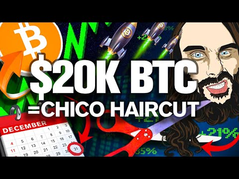 $20k BITCOIN End of Year!! Chico's Haircut is Coming!?