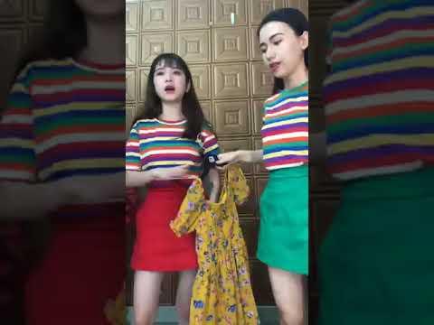 Set Chân Váy Chữ A Kết Hợp Với Áo Thun Sọc Form Cực Chuẩn 2 - Shop Zuna Nhiên ❣ 💃