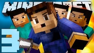 EPIC THREE VERSUS ONE! (Minecraft Battle-Dome with Woofless: EPISODE 3!)
