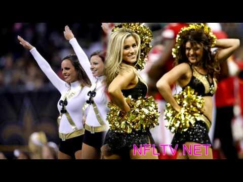 New Orleans Saints Cheerleaders 2015 - 2016 Squad