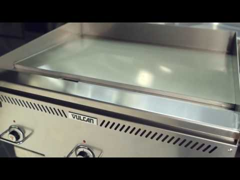 How to Clean a Griddle | Steel, Chrome, or Composite | Vulcan VCRG48-T Griddle