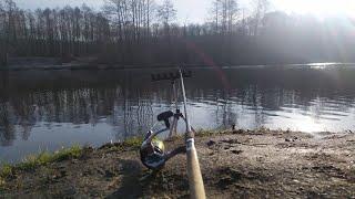 Весенний фидер Ловля на фидер весной Рыбалка на реке