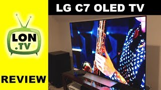 LG OLED C7 Television Consumer Friendly Review : OLED65C7P / OLED55C7P Compared to B7 models