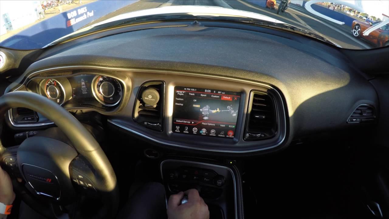 Dodge Challenger 6 Speed Line Lock TAZER - YouTube